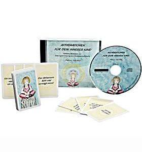 Affirmationen für Dein Inneres Kind - CD+ Karten Set-18