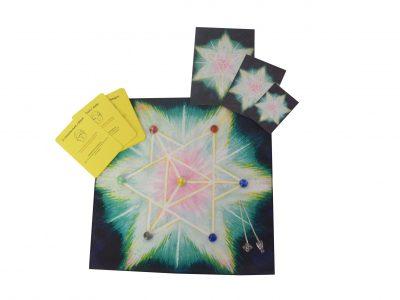 Merkaba Ritual Tuch - Wunscherfüllung 5 teilig-0