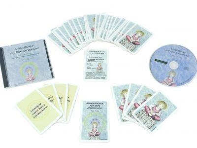 Affirmationen für Dein Inneres Kind - CD+ Karten Set-0