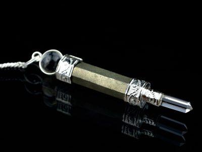 Pendel Energiestab Silberauge-0
