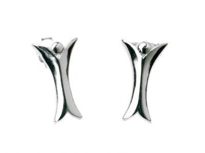 Ohrringe Elohim Engel 925er Silber rhodiniert -324