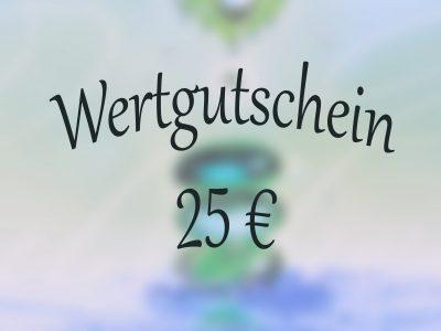 Wertgutschein 25 Euro-0