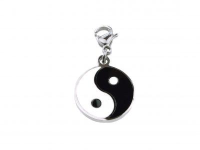Charms - Anhänger - Yin Yang - Chirurgenedelstahl-0