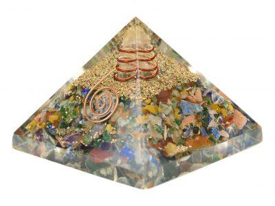 Orgonit Pyramide -Chakrensteine programmiert nach Agnihotra-858