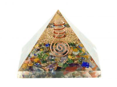 Orgonit Pyramide -Chakrensteine programmiert nach Agnihotra-0