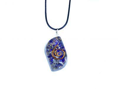 Orgonit Schutz Amulett - Lapislazuli Eye-848