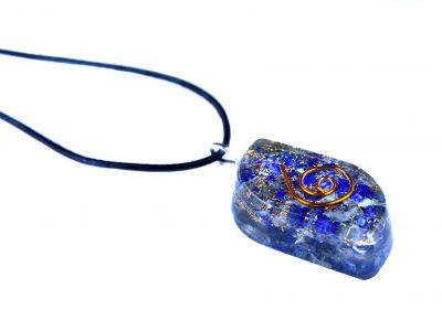 Orgonit Schutz Amulett - Lapislazuli Eye-0
