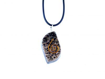 Orgonit Schutz Amulett - Turmalin Eye-0