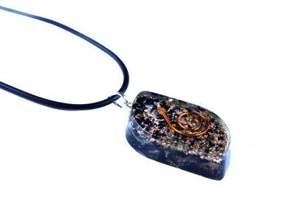 Orgonit Schutz Amulett - Turmalin Eye-846