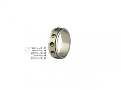 Schmuckset Yin Yang bestehend aus Ring und Kette -928