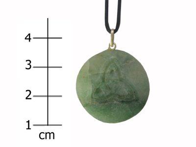 Heilsteinkette grüner Jade (Erfolg)-0