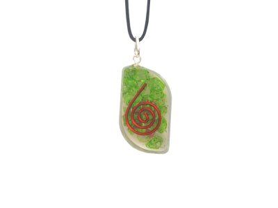 Orgonit Schutz Amulett - grüne Energie Eye-0