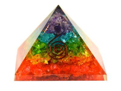 Orgonit Pyramide Regenbogen-0