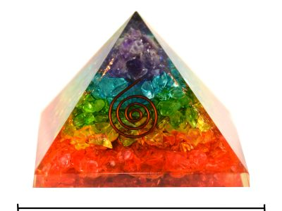 Orgonit Pyramide Regenbogen-1079