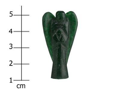Engel dunkelgrüner Jade-1098